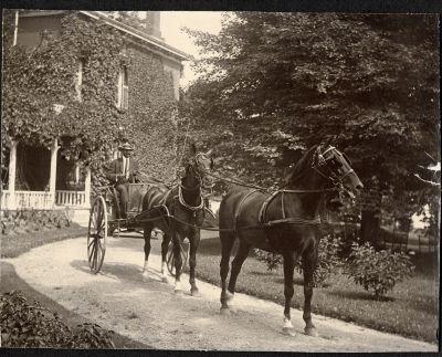 Allan Chisholm circa 1900 on west side