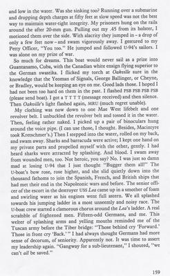 """""""Tales of the North Atlantic"""" by Hal Lawrence, page 159"""