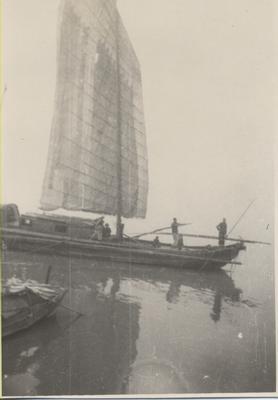 Sailboat on the Yangtze River
