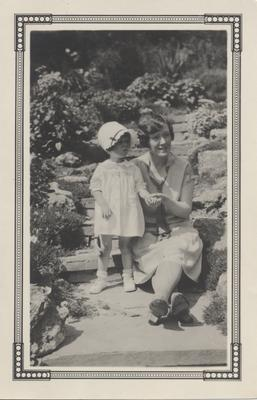 Hazel Chisholm Hart and Nancy Hart
