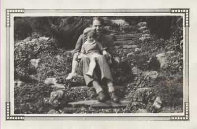 Robert and Nancy Hart on the grounds of Erchless Estate