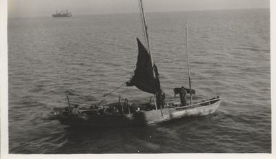 Chinese house/fishing boat