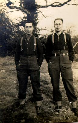 Don Dowdle (right) and Frank MacCuden (left)
