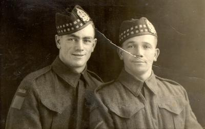 Harold (left) and Edward (right) Waller