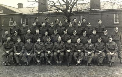 Oakville Overseas, 1st Division, Canadian Active Service Force (C.A.S.F.) March, 1940