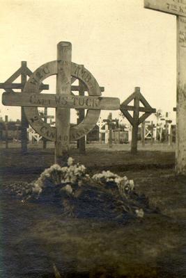 Grave of Captain William Sinclair Tuck