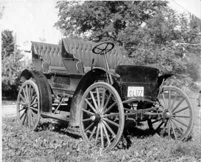 1906 Tudhope autombobile