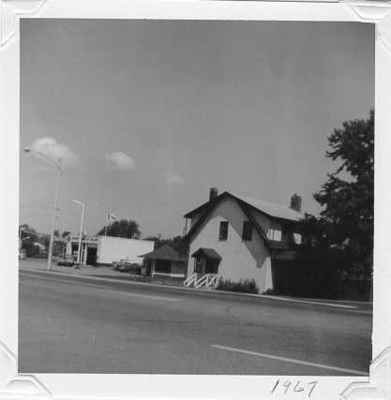 Former home and gas station of Pat Morris
