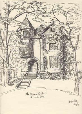 The Davison Residence on Jarvis St.