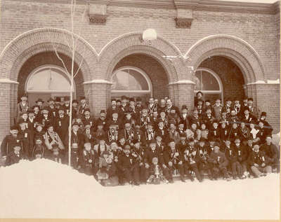 Unknown Image Possibly Central School in Orillia