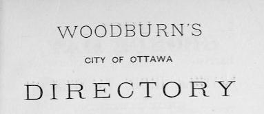 Ottawa City Directories