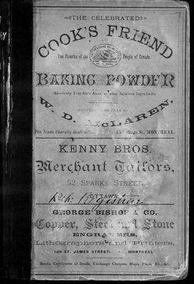 1880 Ottawa City Directory