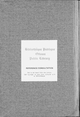 1921 Ottawa City Directory