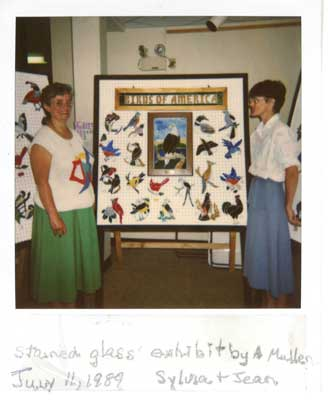 Stained Glass Exhibit