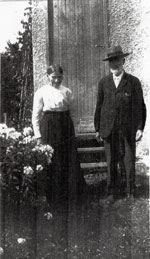 Emilia and Carl Gutzman at Retirement Home