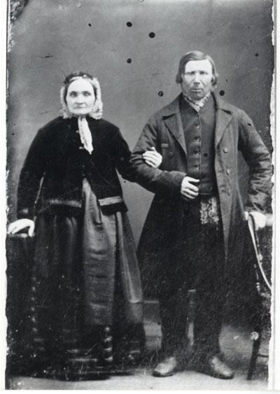 Portrait of Albertina and Johann Gutzmann