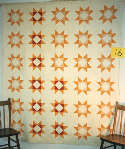 Ohio Star Quilt circa 1920