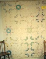 Tea Leaf Quilt circa 1955