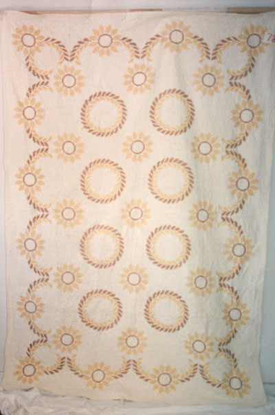 Cross-Stitch Quilt circa 1963-1965