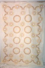 Cross-Stitch Quilt circa 1963-1965