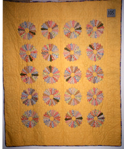 Flower Pattern Quilt Unknown Date