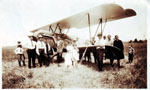Airplane in Petawawa circa 1930