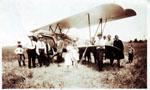 Airplane in Petawawa circa 1930