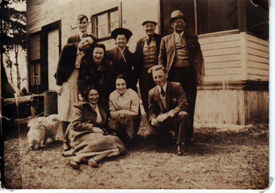 Clouthier and Douglas Family Portrait