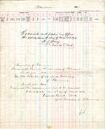 1912 Assessment Roll for the Township of Petawawa
