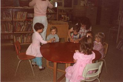 Moms & Tots Petawawa Library Apr 1989