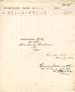 1895 Assessment Roll for the Township of Petawawa