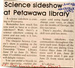 Science sideshow at Petawawa Public Library