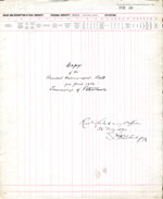 1892 Assessment Roll for the Township of Petawawa