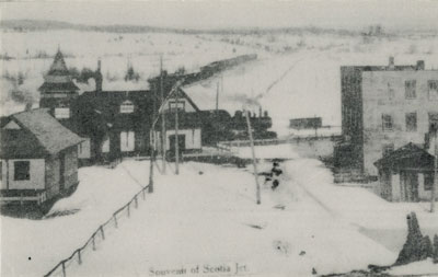 Postcard of Scotia Junction