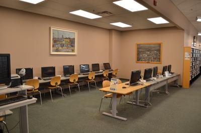 Library Public Computers