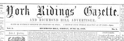 York Ridings Gazette