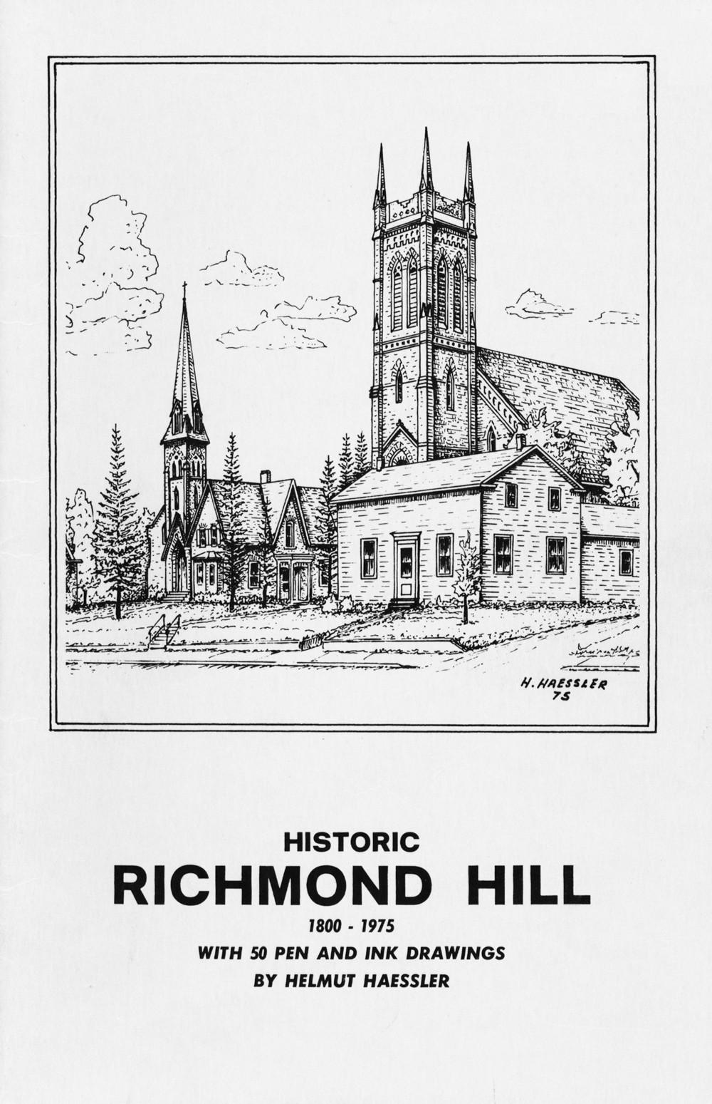 Historic Richmond Hill: 1800-1975