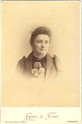 Photograph of Margaret McCague Wright