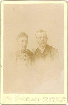 Photograph of Geo & Annie Dibb