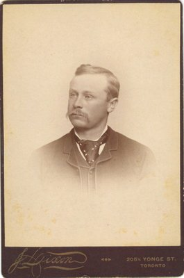 Photograph of an unidentified man