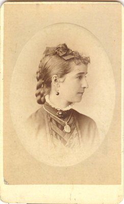 Portrait photograph of a young woman