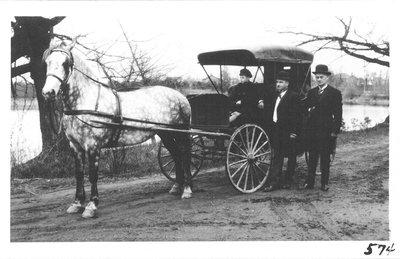 Allan Bales's buggy