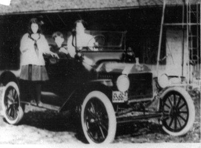 Lillian Langstaff's first car