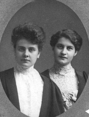 Edith Beatty and Lillian Carroll