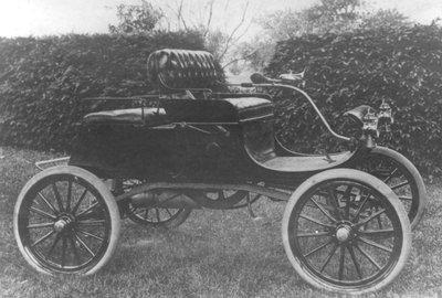Dr. Rolph Langstaff's first car