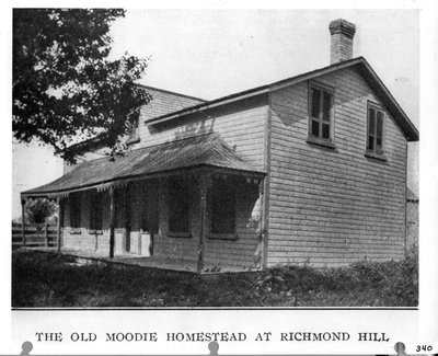 Old Moodie homestead