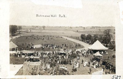 Photograph of Richmond Hill Spring Fair