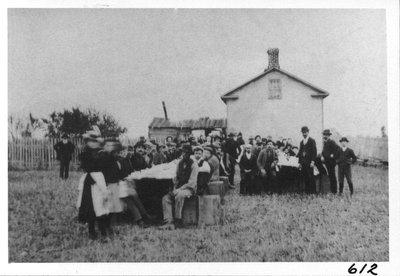 Barn-raising supper