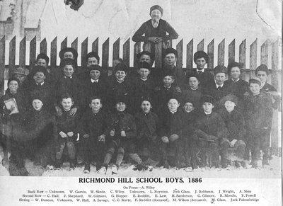 Richmond Hill School boys