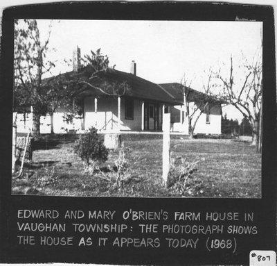O'Brien farm house